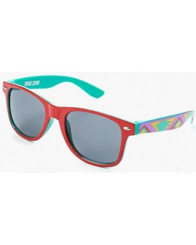 Красные солнцезащитные очки True Spin