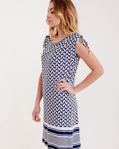 Пляжное платье весеннее синее Pastunette