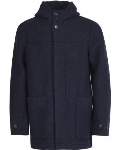 Синее пальто Hugo Boss