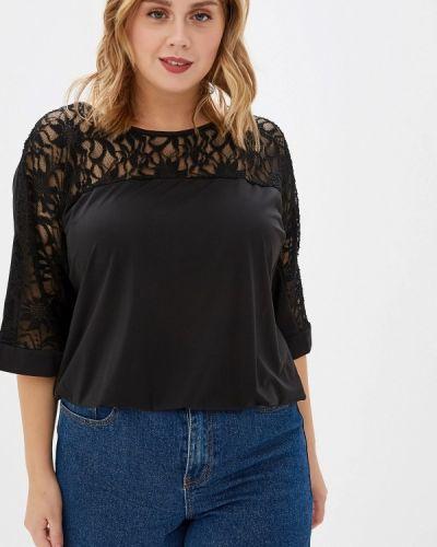 Блузка черная Darissa Fashion