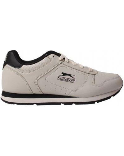 Кожаные кроссовки - белые Slazenger