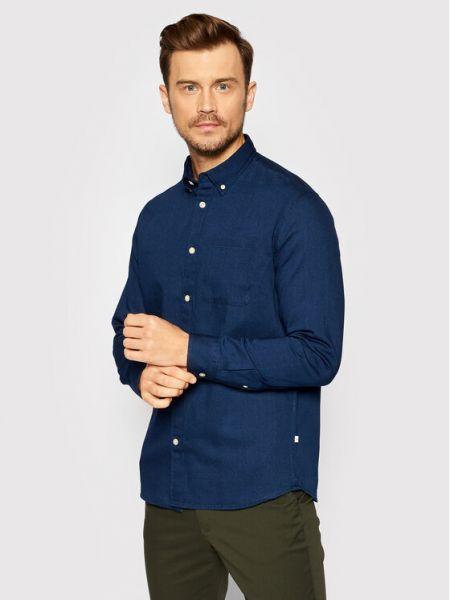 Koszula jeansowa - granatowa Selected Homme
