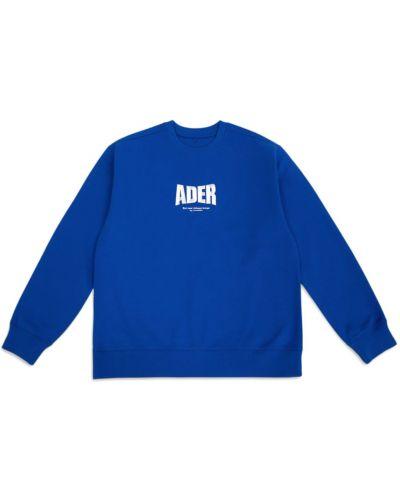 Bluza dresowa - niebieska Ader Error