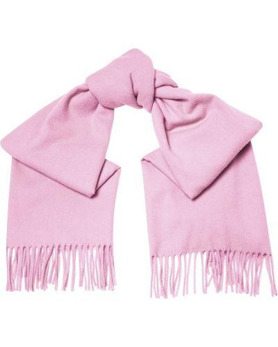 Фиолетовый шарф шерстяной Acne Studios