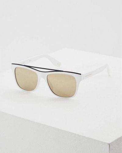Белые солнцезащитные очки Marc Jacobs