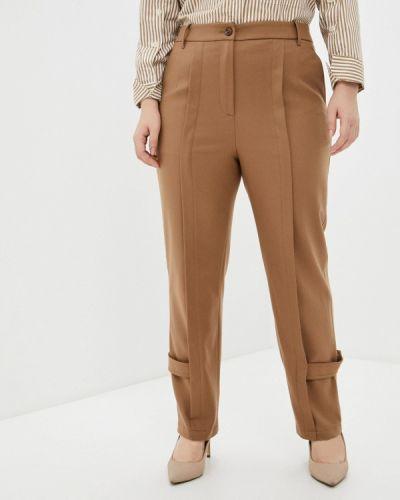 Прямые коричневые брюки Lanicka