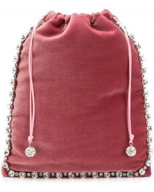 Różowa kopertówka srebrna Ca&lou