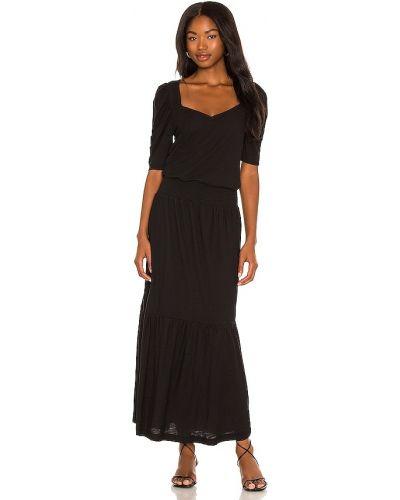 Черное платье рубашка Nation Ltd