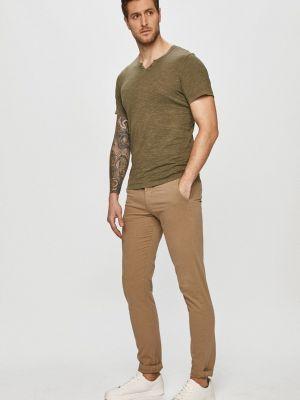 Джинсовые брюки - синие Dr Denim