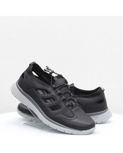 Кожаные кроссовки - черные Stylen Gard