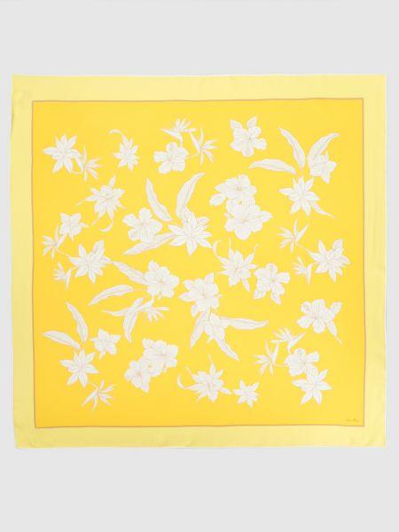 Желтый шелковый платок Loro Piana