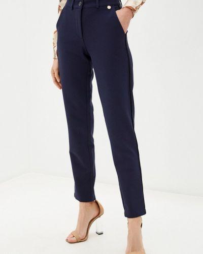 Повседневные синие брюки Blugirl Folies