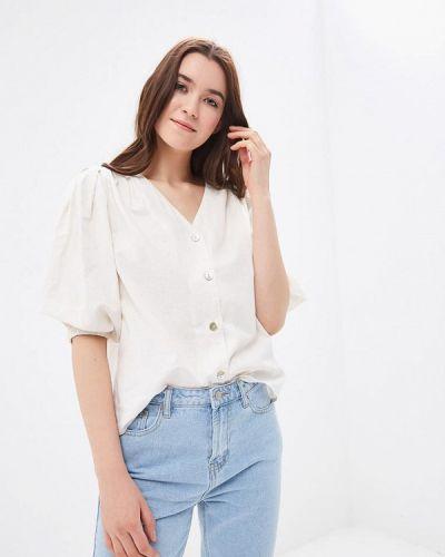 Блузка с длинным рукавом весенний бежевый Sela