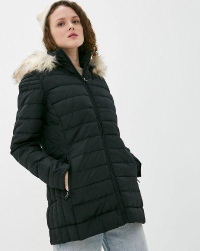 Черная утепленная куртка Haily's