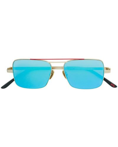 Солнцезащитные очки хаки La Petite Lunette Rouge