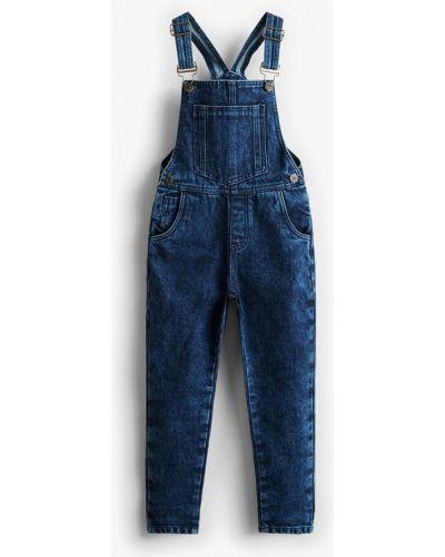 Синий комбинезон джинсовый Mango Kids