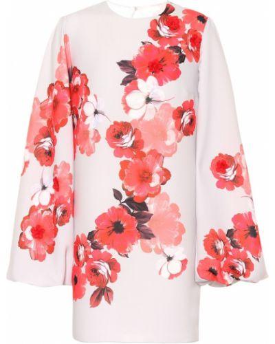 Платье мини с цветочным принтом Costarellos