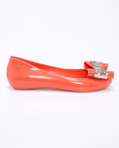 Оранжевые балетки Zaxy