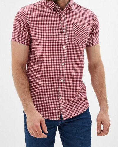 Рубашка с короткими рукавами бордовый красный Colin's