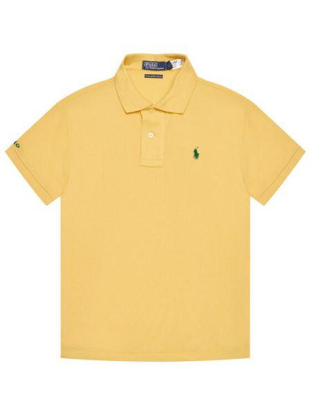 Żółte polo Polo Ralph Lauren