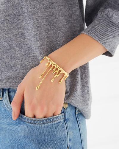 Золотой браслет позолоченный Fjord