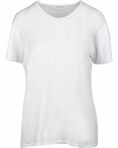 Biała t-shirt Pomandere