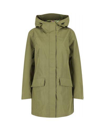 Зеленая куртка мембранная Jack Wolfskin