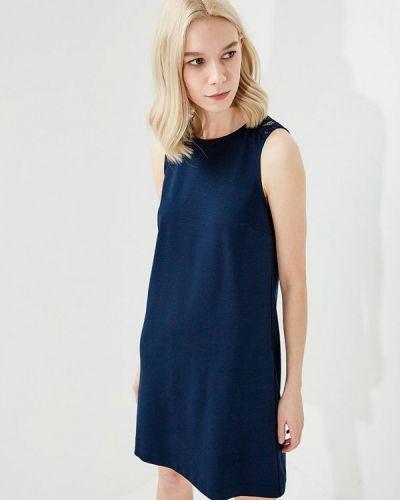 Синее платье Twin-set Simona Barbieri