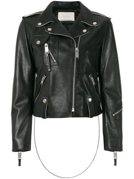 Черная кожаная куртка байкерская 1017 Alyx 9sm