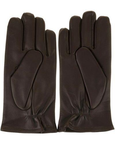 Brązowe rękawiczki Orciani