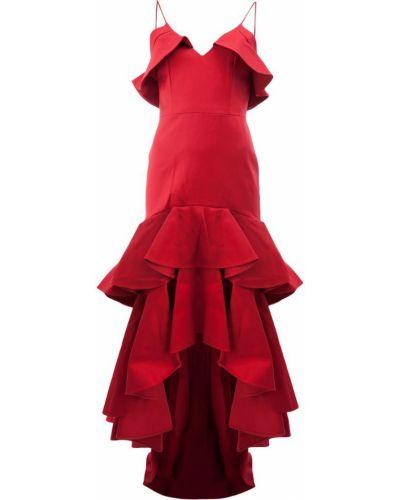Платье с оборками хлопковое Alexis