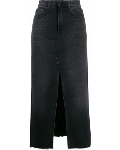 Юбка миди джинсовая с завышенной талией Rag & Bone/jean