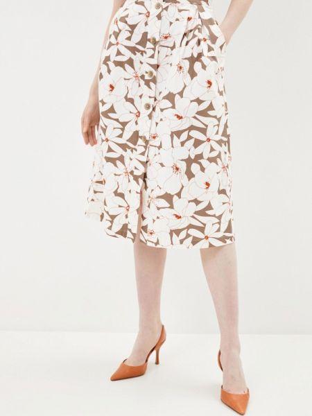 Белая юбка Solou