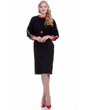 Платье с поясом спортивное платье-свитер Lautus
