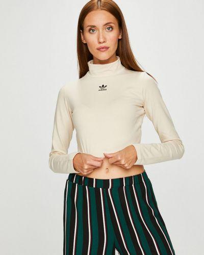 Бежевая блузка Adidas Originals