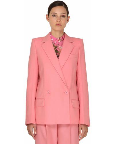 Różowa kurtka wełniana Givenchy