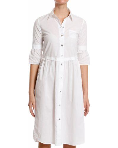 Хлопковое платье - белое Maison Margiela