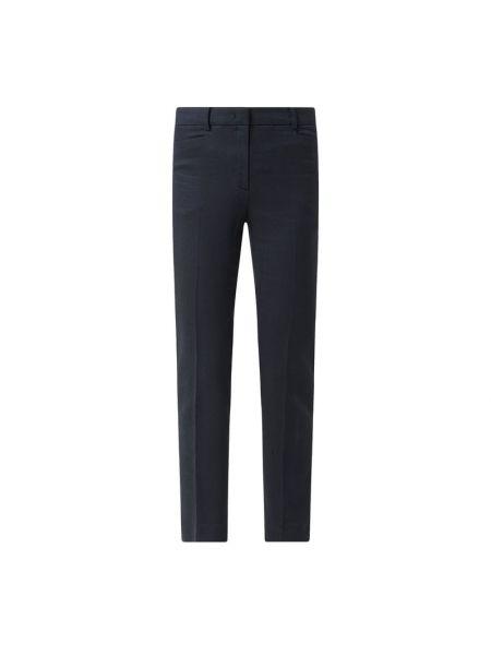 Spodnie z wiskozy - niebieskie More & More