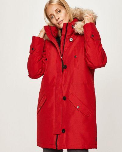 Куртка с капюшоном мятная на пуговицах из искусственного меха Vero Moda