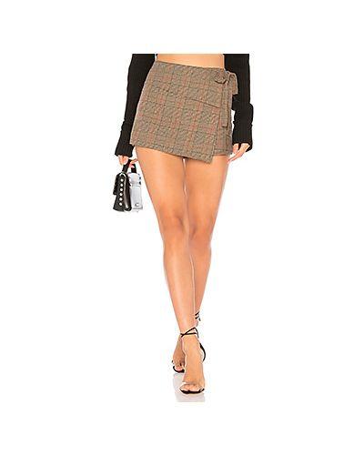 Юбка шотландка юбка-шорты Tularosa