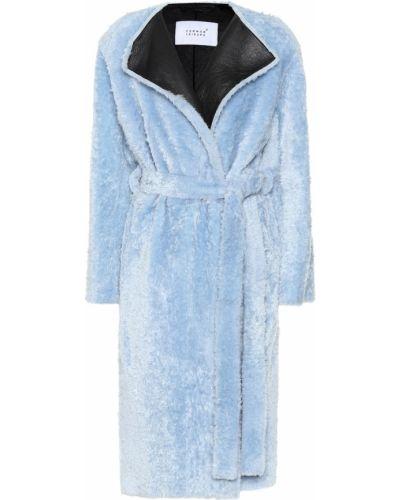 Зимнее пальто синее Common Leisure