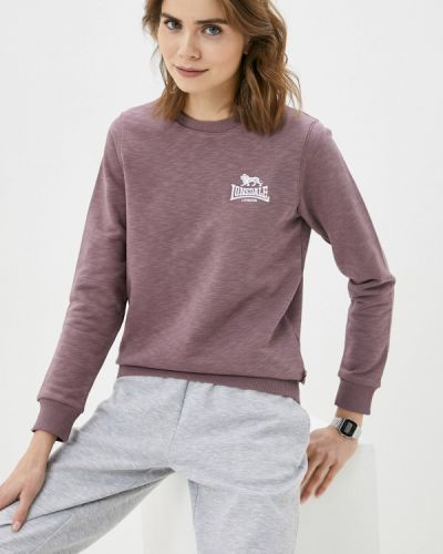 Фиолетовый свитшот Lonsdale