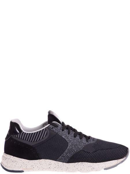 Кожаные кроссовки - черные Brimarts