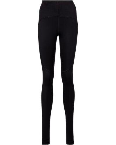 Черные леггинсы для йоги Adidas By Stella Mccartney