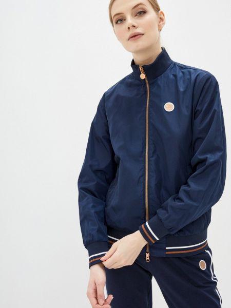 Куртка весенняя синий Ea7