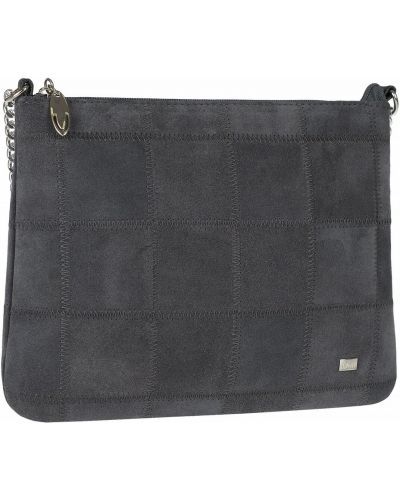 Замшевая сумка на цепочке на молнии Franchesco Mariscotti