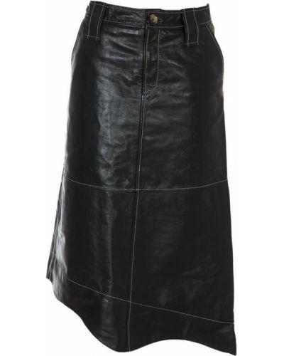 Czarna spódnica Ganni