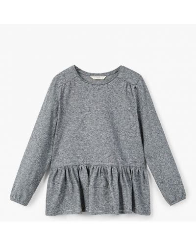 Блуза трикотажная с оборками Mango Kids