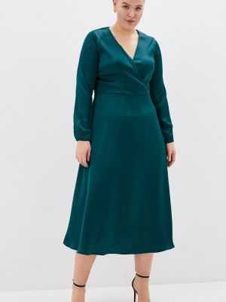 Платье прямое зеленый Incity
