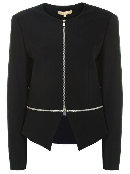Шерстяной пиджак - черный Michael Kors
